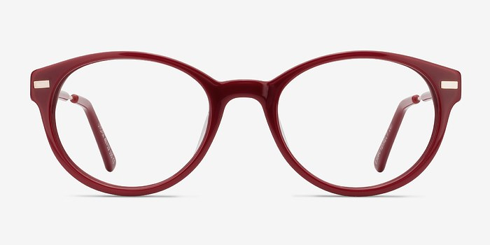 Red Utopia -  Classic Acetate Eyeglasses