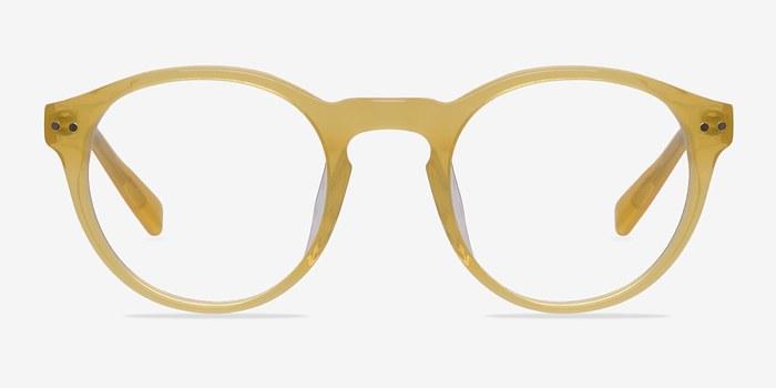 Yellow Perception -  Designer Acetate Eyeglasses