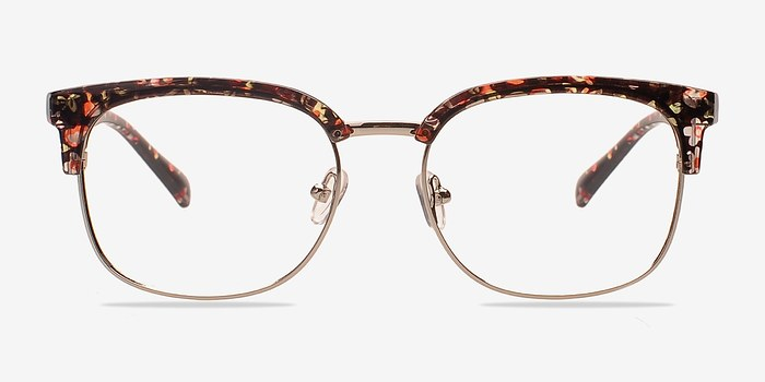 Glasses Frames Charleston Sc : Charleston Silver/Floral Women Plastic Eyeglasses ...