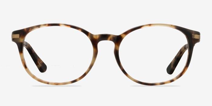 new bedford bronze tortoise acetate eyeglasses