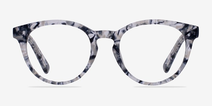 Blue/Floral Stanford -  Classic Acetate Eyeglasses