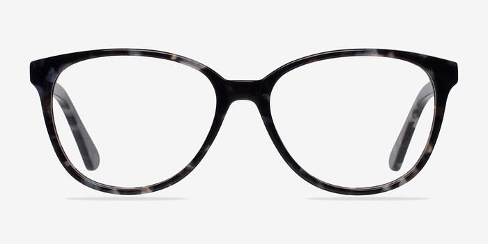 Gray/Floral Hepburn -  Colorful Acetate Eyeglasses