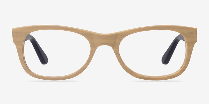 Yellow Little Panama -  Classic Acetate Eyeglasses