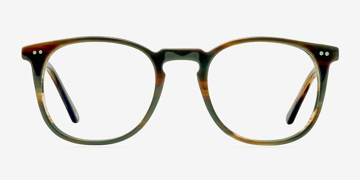 Shade Macchiato Acetate Eyeglasses Eyebuydirect