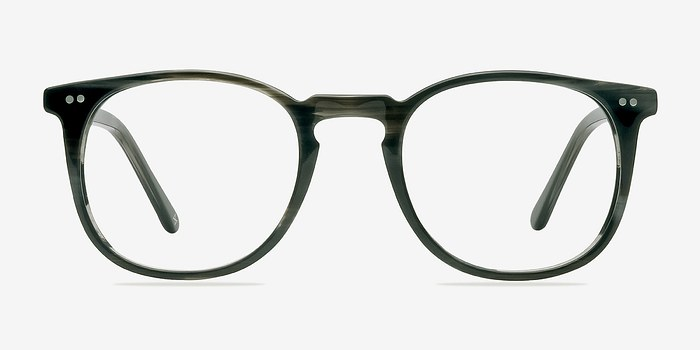 Striped Granite Shade -  Geek Acetate Eyeglasses