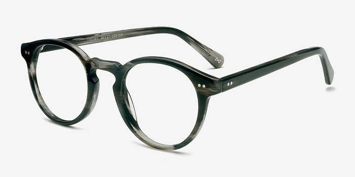 Theory Striped Granite Acetate Eyeglasses Eyebuydirect