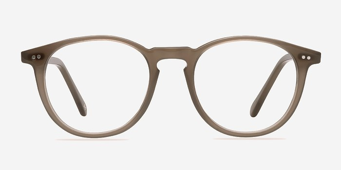 Clear Gray Prism -  Geek Acetate Eyeglasses