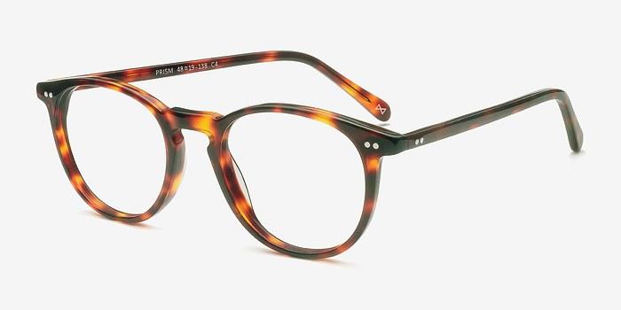 prism warm tortoise acetate eyeglasses eyebuydirect