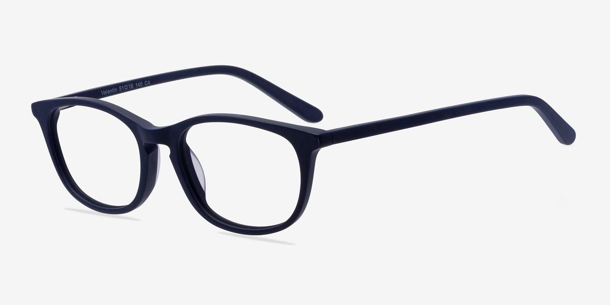 Valentin Navy Women Acetate Eyeglasses EyeBuyDirect