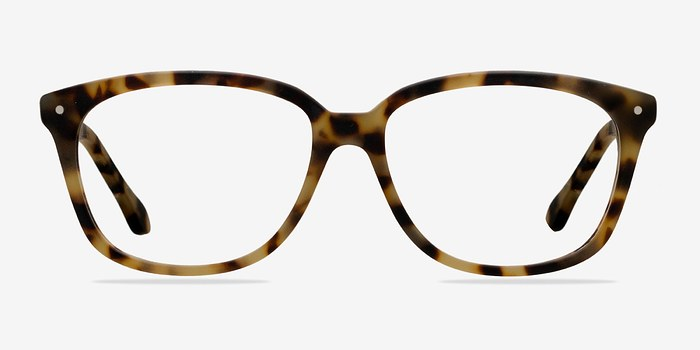 Matte Tortoise Escapee -  Fashion Acetate Eyeglasses