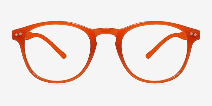 Orange Instant Crush -  Fashion Plastic Eyeglasses