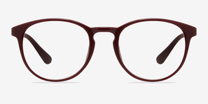 Dark Red Muse -  Fashion Plastic Eyeglasses