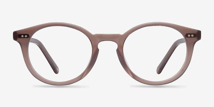 Translucent Smoked Taupe Fade -  Designer Acetate Eyeglasses