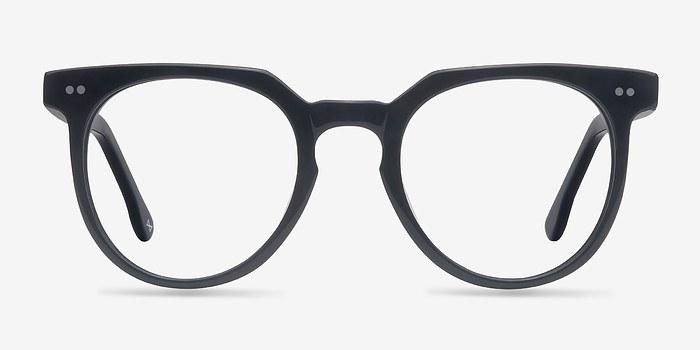 Jet Black Atmosphere -  Designer Acetate Eyeglasses