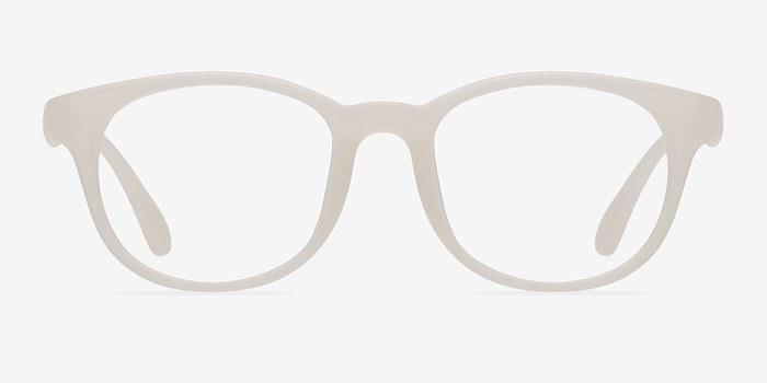Matte White  Norah -  Classic Plastic Eyeglasses
