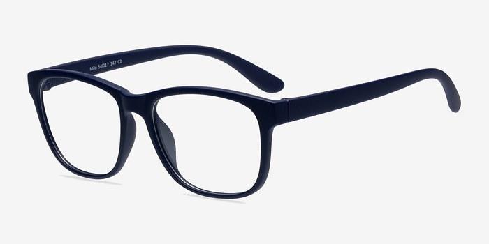 EyeBuyDirect Milo Matte Navy Plastic Eyeglasses