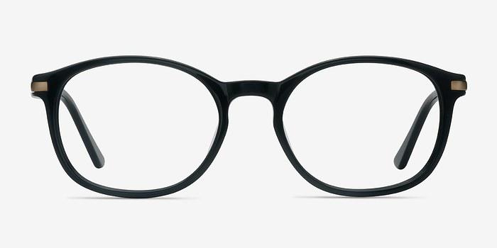Black New Bedford M -  Acetate Eyeglasses