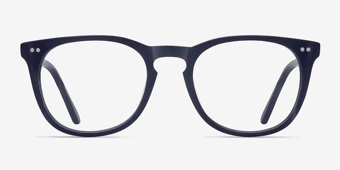 Matte Navy Providence S -  Acetate Eyeglasses