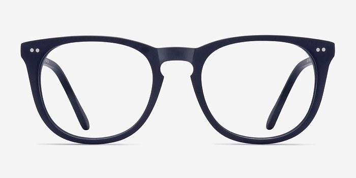 Matte Navy Providence M -  Acetate Eyeglasses