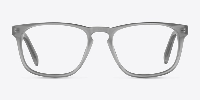 Matte Gray Rhode Island -  Colorful Acetate Eyeglasses
