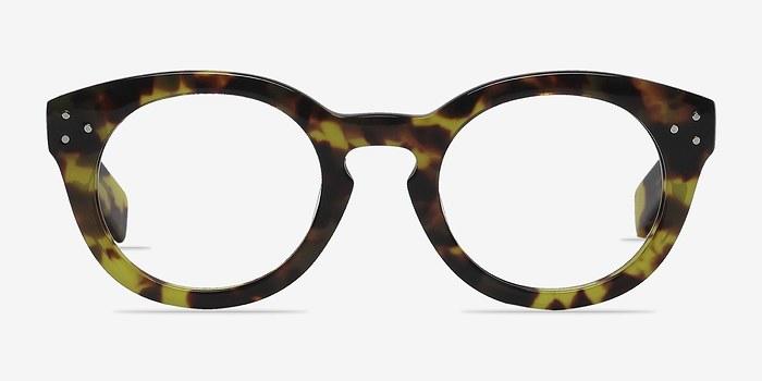 Tortoise Morla -  Fashion Acetate Eyeglasses