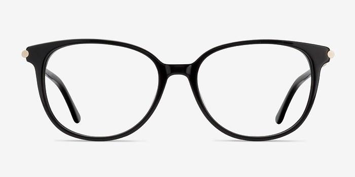 Black Jasmine -  Vintage Acetate Eyeglasses