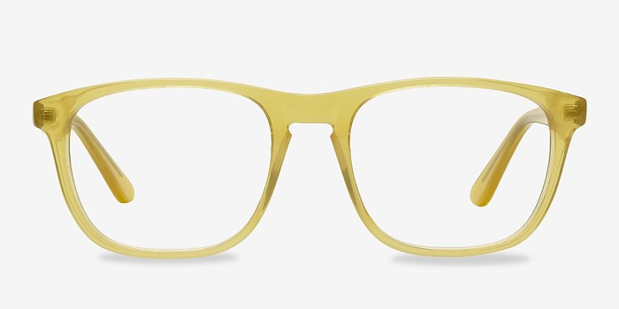 Yellow Damien -  Acetate Eyeglasses