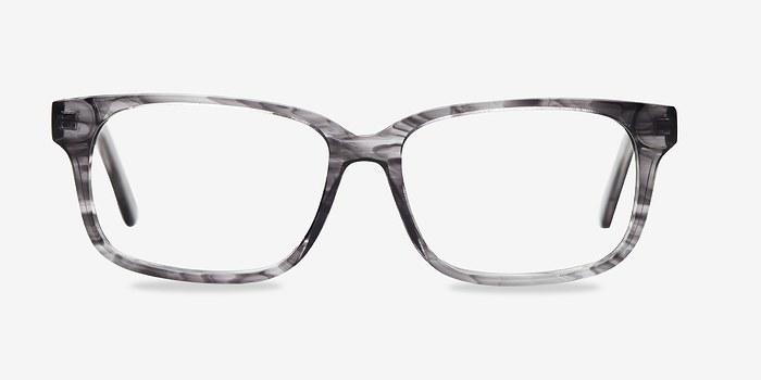 Clear Gray Edit -  Acetate Eyeglasses