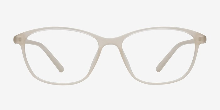Matte Beige District -  Plastic Eyeglasses