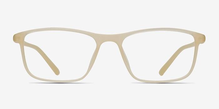 Matte Cream Wyoming -  Plastic Eyeglasses