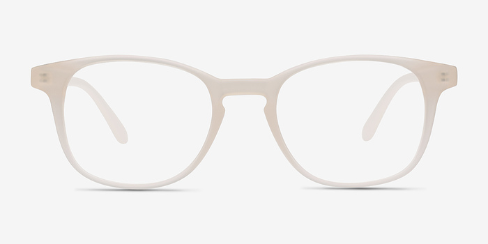 Matte White Monday -  Plastic Eyeglasses
