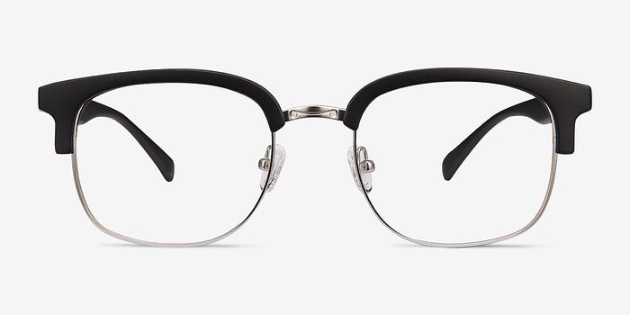 Matte Black Yokote -  Metal Eyeglasses