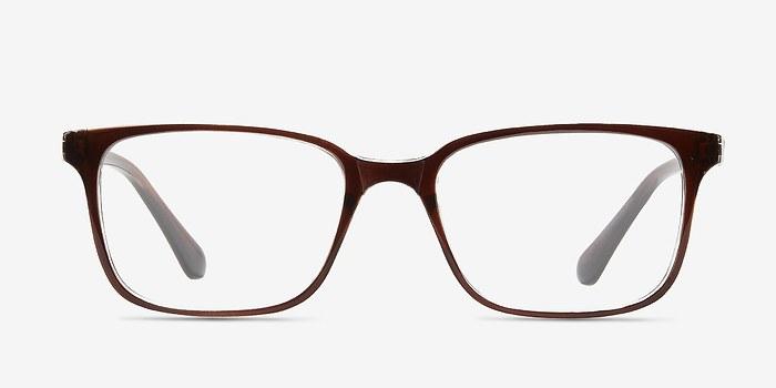 Brown Clear  November -  Classic Plastic Eyeglasses