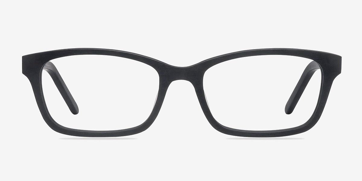 Mesquite Matte Black Acetate Eyeglasses EyeBuyDirect