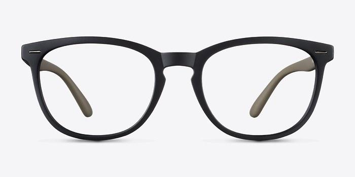Matte Black Little Yolo -  Plastic Eyeglasses