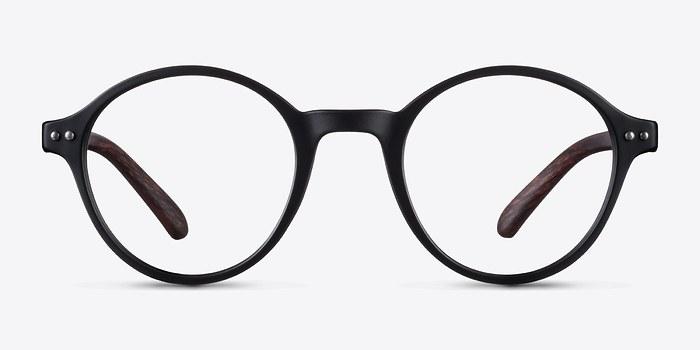Matte Black Little Mellow -  Plastic Eyeglasses