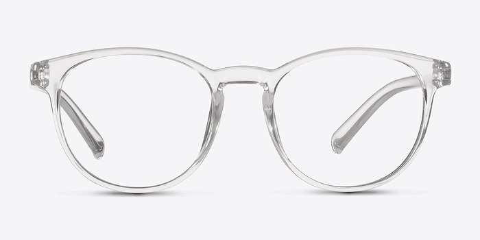 clear little chilling plastic eyeglasses