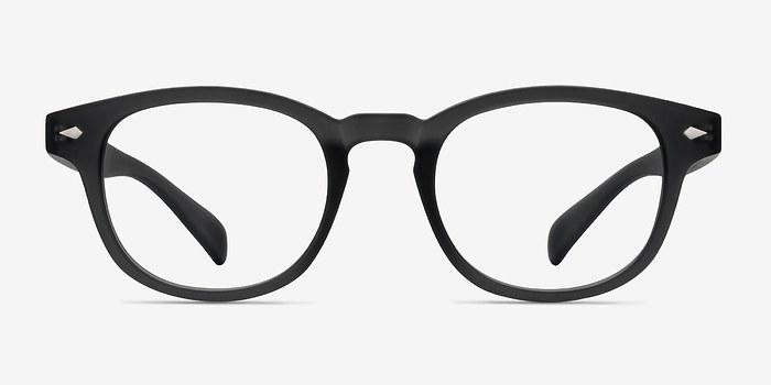Matte Gray Atomic -  Plastic Eyeglasses