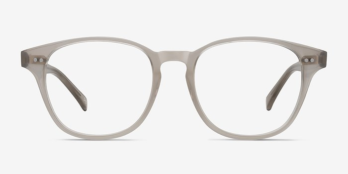 Clear Gray Lucid -  Vintage Acetate Eyeglasses