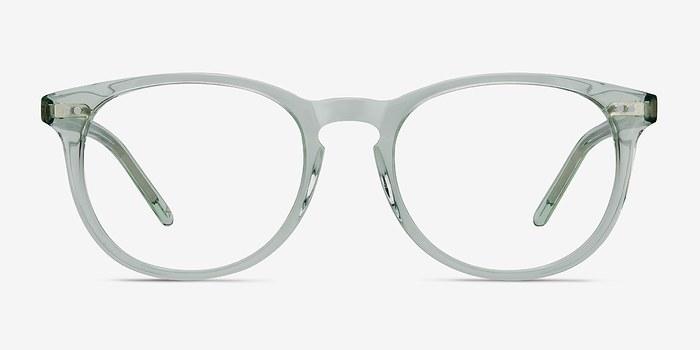 Clear Jade Aura -  Colorful Acetate Eyeglasses