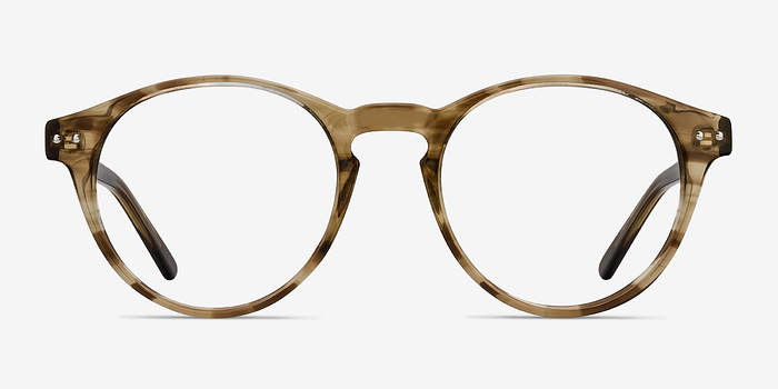 Brown striped Method -  Acetate Eyeglasses