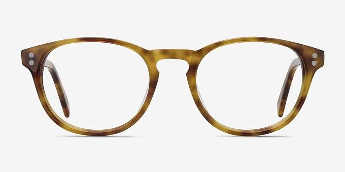 Tortoise Split -  Vintage Acetate Eyeglasses