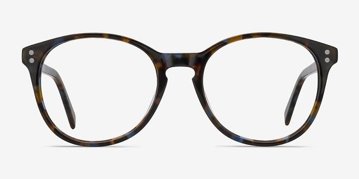 Brown Floral Pride -  Acetate Eyeglasses