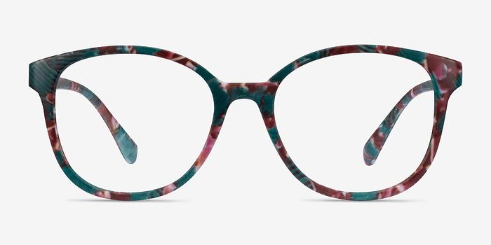 Floral The Beat -  Plastic Eyeglasses