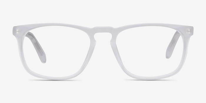 Matte Clear Rhode Island -  Acetate Eyeglasses