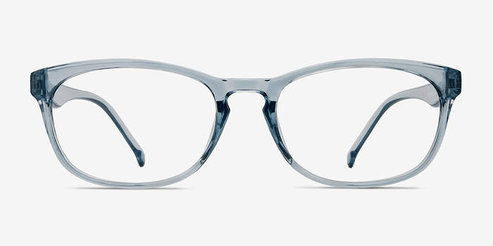 Clear Blue Drums -  Plastic Eyeglasses