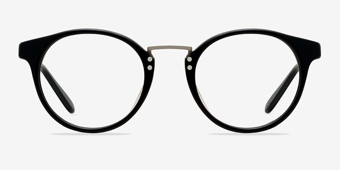 Black/Silver Get Lucky -  Fashion Acetate Eyeglasses
