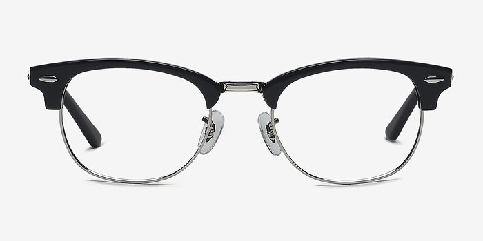 Navy Silver Sweet Janet -  Fashion Acetate Eyeglasses