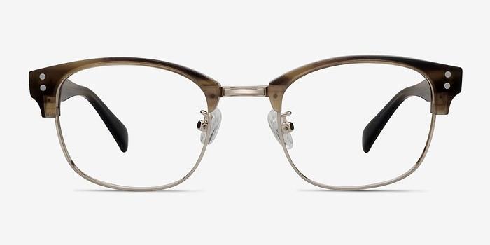 Brown Look Up -  Designer Acetate Eyeglasses