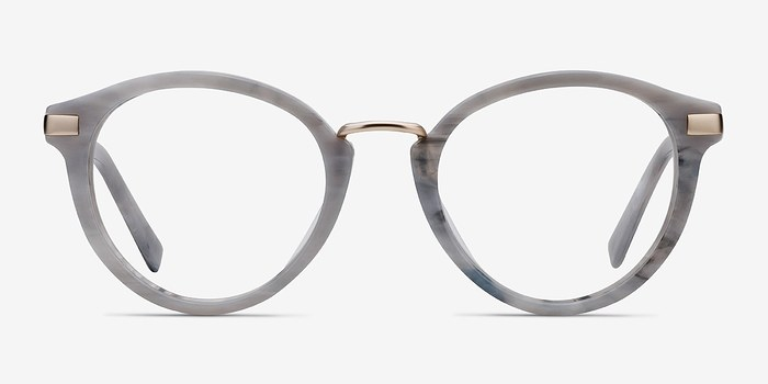 Light Gray Yuke -  Acetate Eyeglasses
